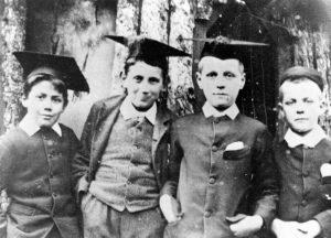 Huish boys in 1889