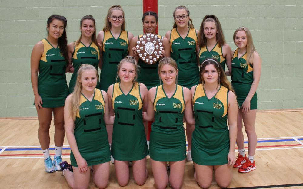 Huish netballers win U19 County Tournament