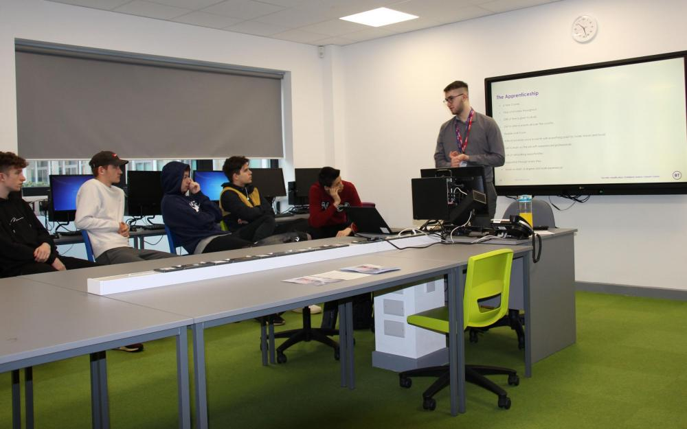 Ex-Huish student inspires the next generation of IT and Computing Students