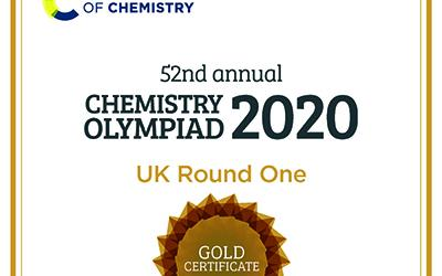 Huish students celebrate success in Chemistry Olympiad