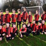 Huish Tigers Under 10 team