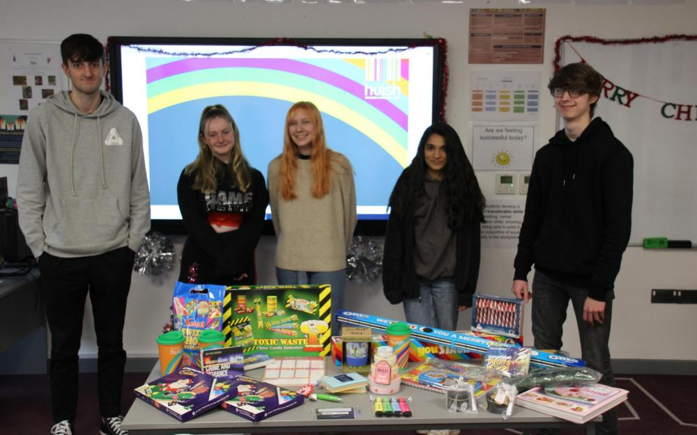 Sociology students raise funds for Arc
