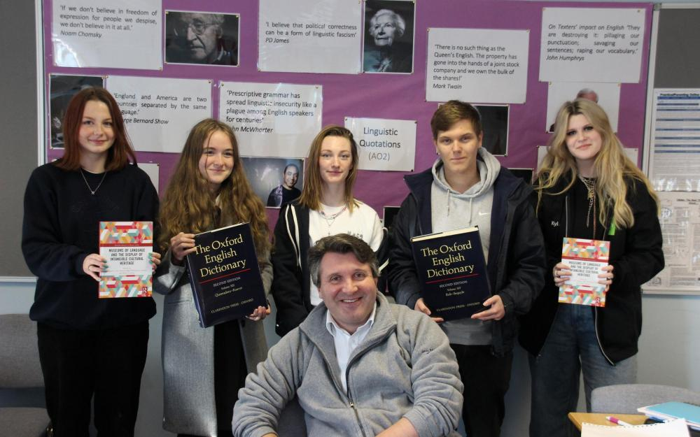 Huish English Linguistics students and staff get published