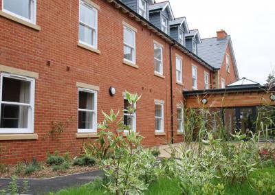Oak House rear view