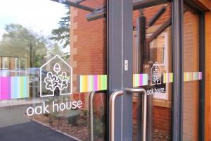 Oak House entrance doors
