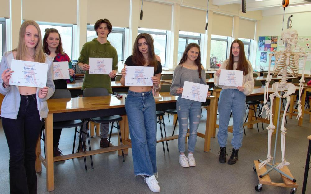 Huish Celebrates success in the Biology Olympiad