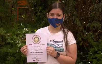 Huish Student nominated for Somerset Youth Award
