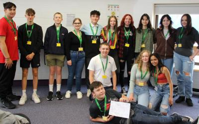 New Students Step into Huish with 3-day event