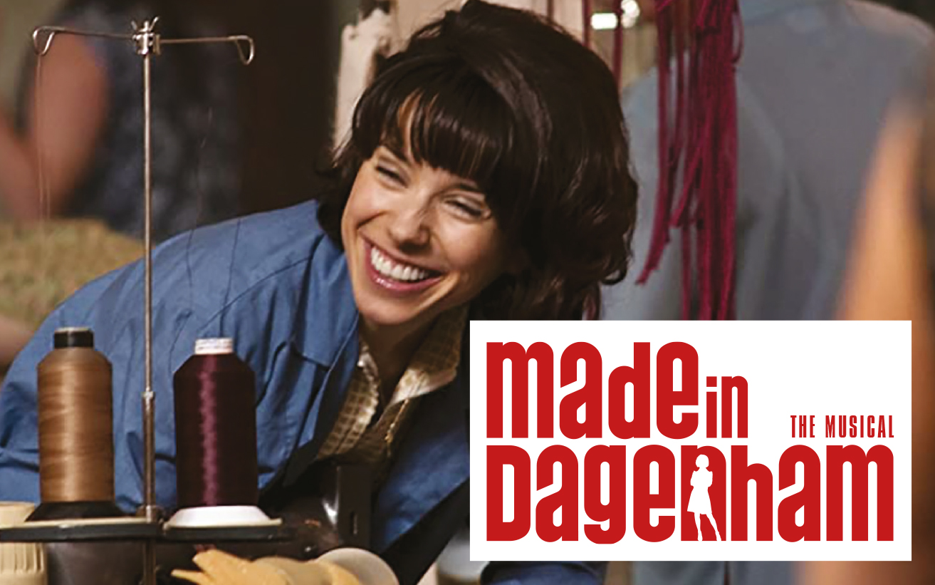 Made in Dagenham - lady sat at sewing machine