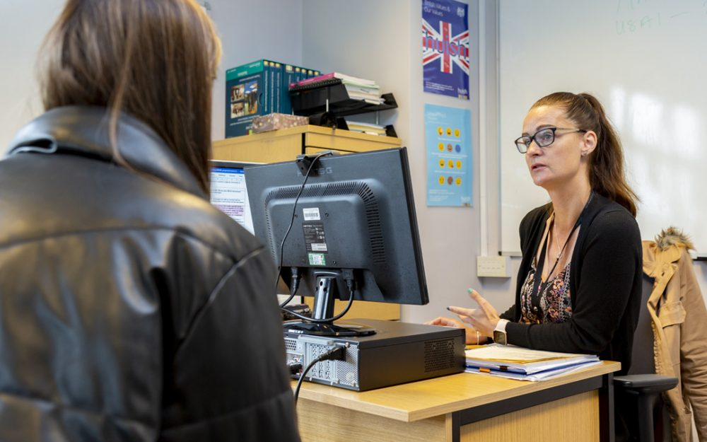 Richard Huish College and Heathfield join forces to provide Business students advice on progression